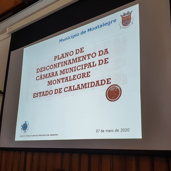 Plano municipal de desconfinamento  1  1 600 600